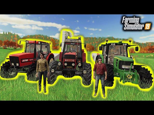 😃 Trawa Dla Głodnych Krów 🦹♀️👨🏼🌾 Rolnicy z Miasta 😍 Farming Simulator 19 🚜