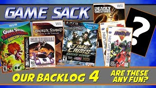 Our Backlog 4 - Are These Games Any Fun? - Game Sack