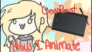 HUION 1060 Plus REVIEW + HOW I ANIMATE