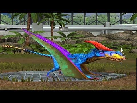 Jurassic World Game Mobile #42: Quái chim mặt quỷ trong ark quá ghê(Dimorphodon)