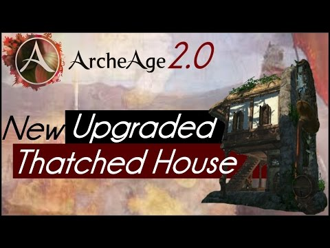 Image Result For Thatched Farmhouse Archeage