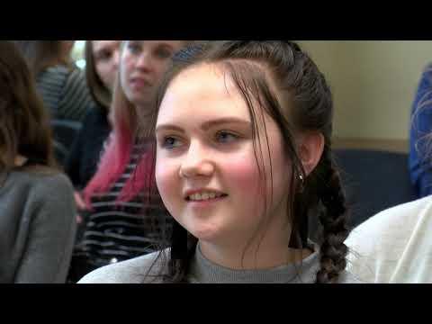 Jauniešu pilsoniskās līdzdalības diskusija Nautrēnu vidusskolā