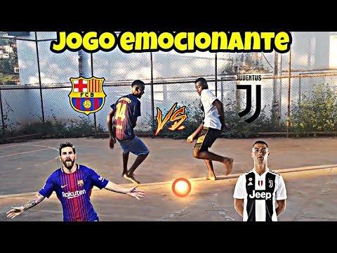 Barcelona vs Juventus - Italo contra Fantasmito (Amistoso Internacional)