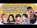 KPOP IDOL INI SELALU SALAH DISEBUTIN! Part 2  Borassaem