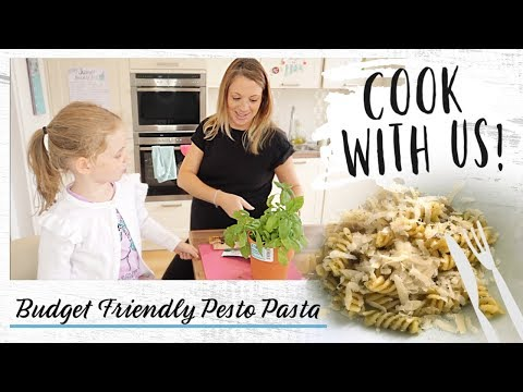 Pesto Pasta Without Pine Nuts | Cook With Me | Budget Friendly Meal Ideas
