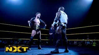 Finn Bálor vs. Apollo Crews – NXT Championship Match: WWE NXT, Nov. 4, 2015