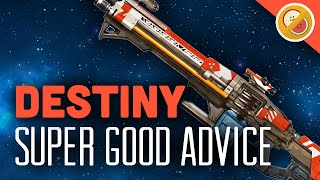 DESTINY NEW Super Good Advice Heavy Machine Gun Review (The Taken King Exotic)