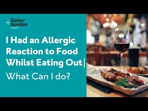 I Had an Allergic Reaction to Food Whilst Eating Out | What Can I do?