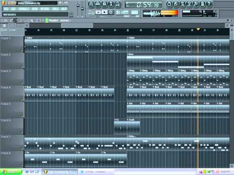 Baby (Justin Bieber) Instrumental FL Studio remake [FREE FLP DOWNLOAD]