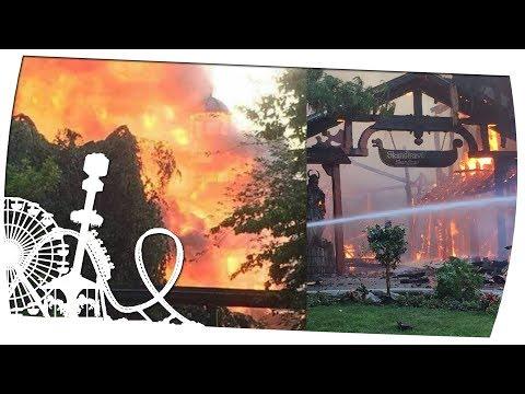 Feuer im Europa Park – Brand gelöscht und Park wieder geöffnet – Theme Park News #170