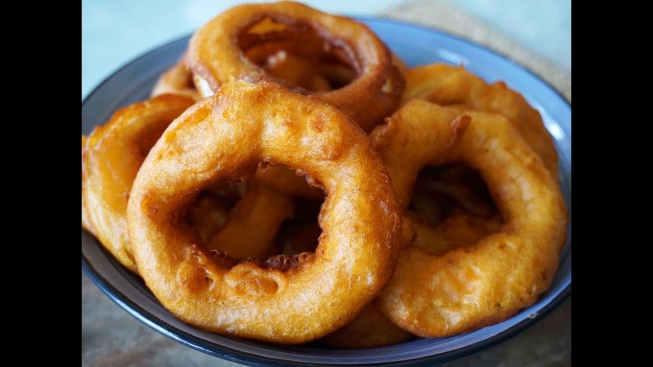 meticolosi processi di tintura negozio online vendita scontata Onion Rings, anelli di cipolla fritti fatti in casa - Le video ricette di  Lara