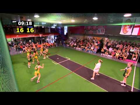 Indoor Netball Tri Nations 2013 Under 18 Final Australia Vs South Africa