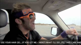 Zack Ryder sings in car new