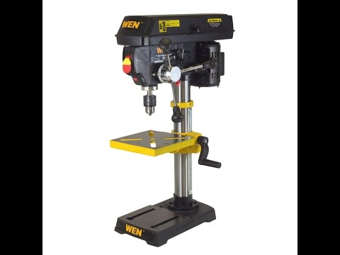 wen-benchtop-drill-press-review----brian's-workshop