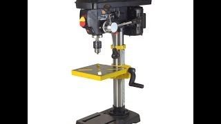 WEN Benchtop Drill Press Review -- Brian's Workshop