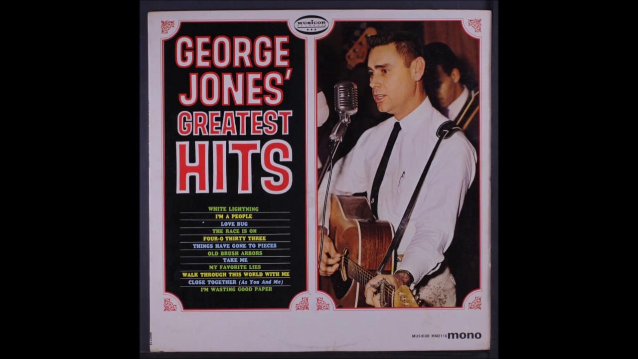 what was george jones biggest hit