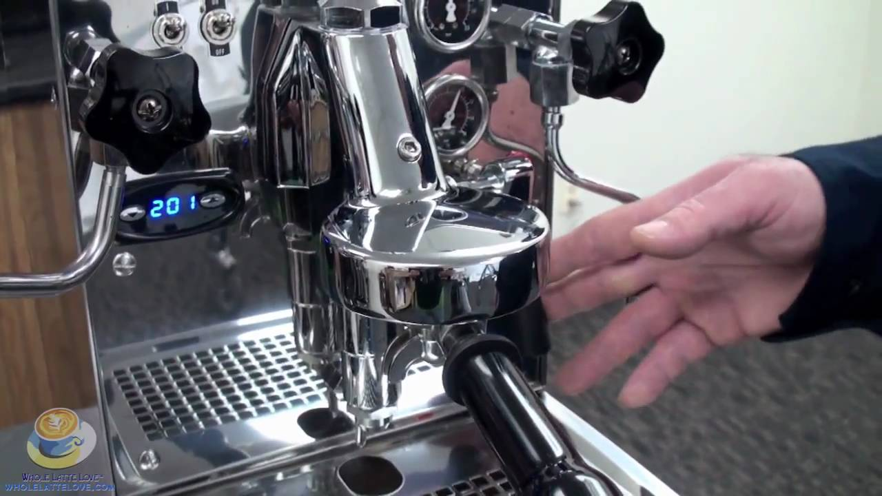 backflush espresso machine