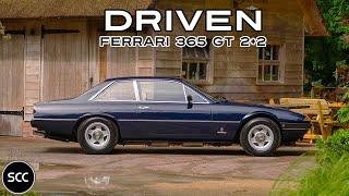 FERRARI 365 GT4   GT/4 2+2 1974 - Test drive in top gear - V12 Engine sound   SCC TV