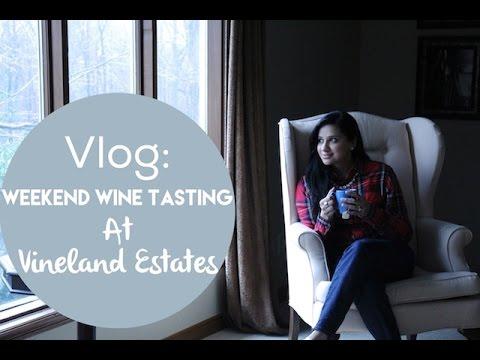 Vlog: Winery Tour And Wine Tasting 101 At Vineland Estates | Angelie Sood