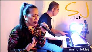 SJLIVE - Turning Tables Cover