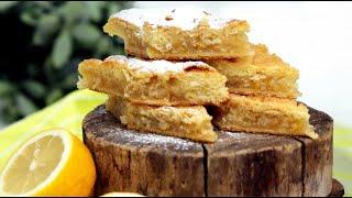 Лимонник. Рецепт лимонного пирога