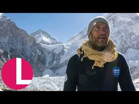 Ben Fogle Phones His Wife Live From Mount Everest | Lorraine