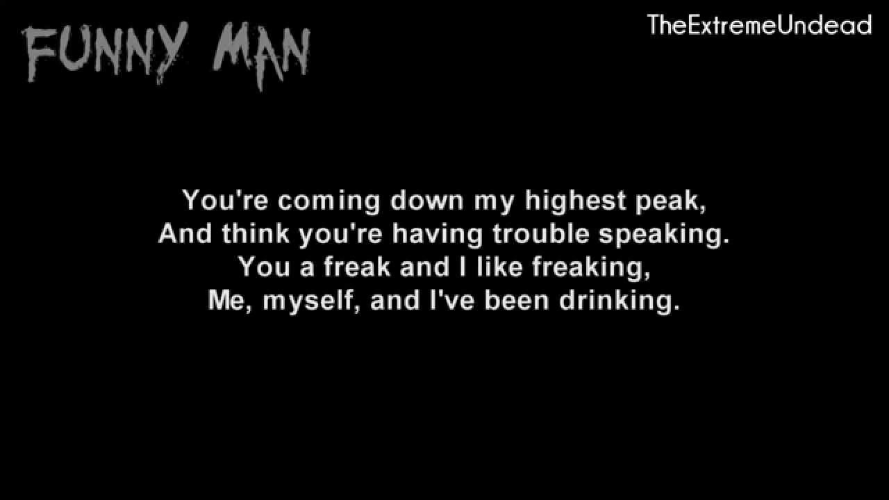 Hollywood Undead Party By Myself Lyrics Video Youtube