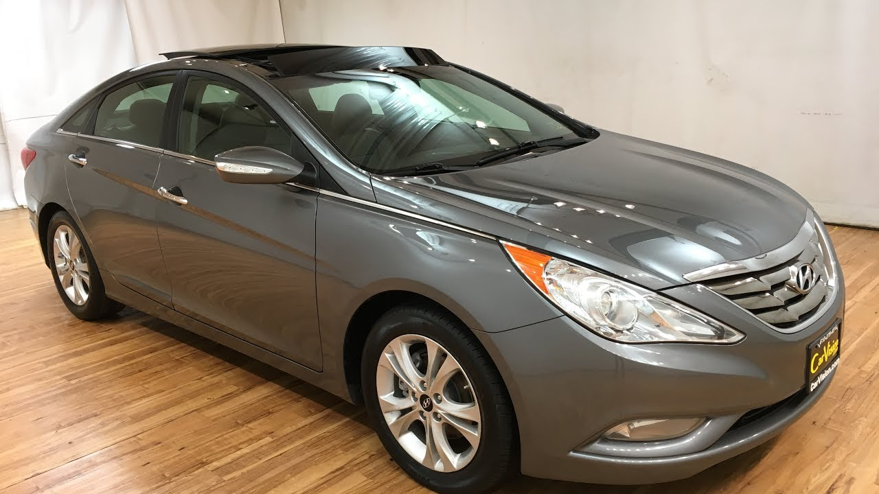 2017 Hyundai Sonata Limited Leather Navigation Moonroof Rear Cam Carvision