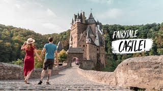 Most BEAUTIFUL FAIRYTALE CASTLES IN GERMANY!? - Burg Eltz Castle & Burg Thurant 😍