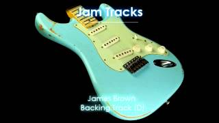 James Brown Funk Backing Track (D) - TheGuitarLab.net -