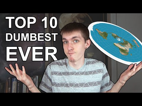 Top 10 Dumbest things Flat Earthers Have Said! thumbnail