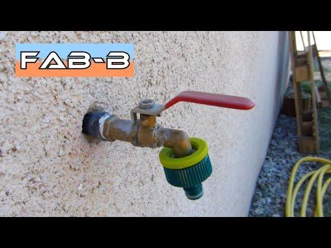 comment remplacer un robinet d exterieur
