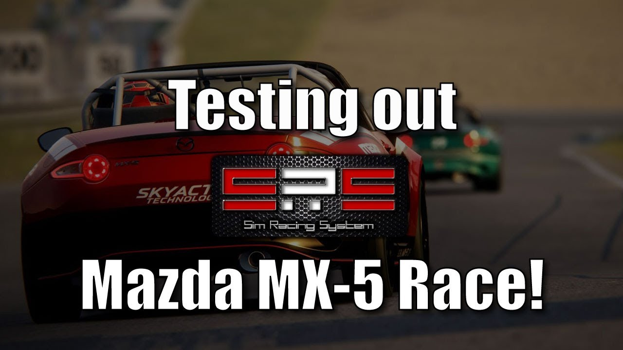 a strong race sim racing system mazda mx 5 race at red. Black Bedroom Furniture Sets. Home Design Ideas