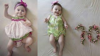 9 e 10 meses da Baby Helena