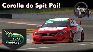 Corolla do Spit Pai! ;) | Game Copa Petrobras de Marcas + Logitech G25 [PT-BR]