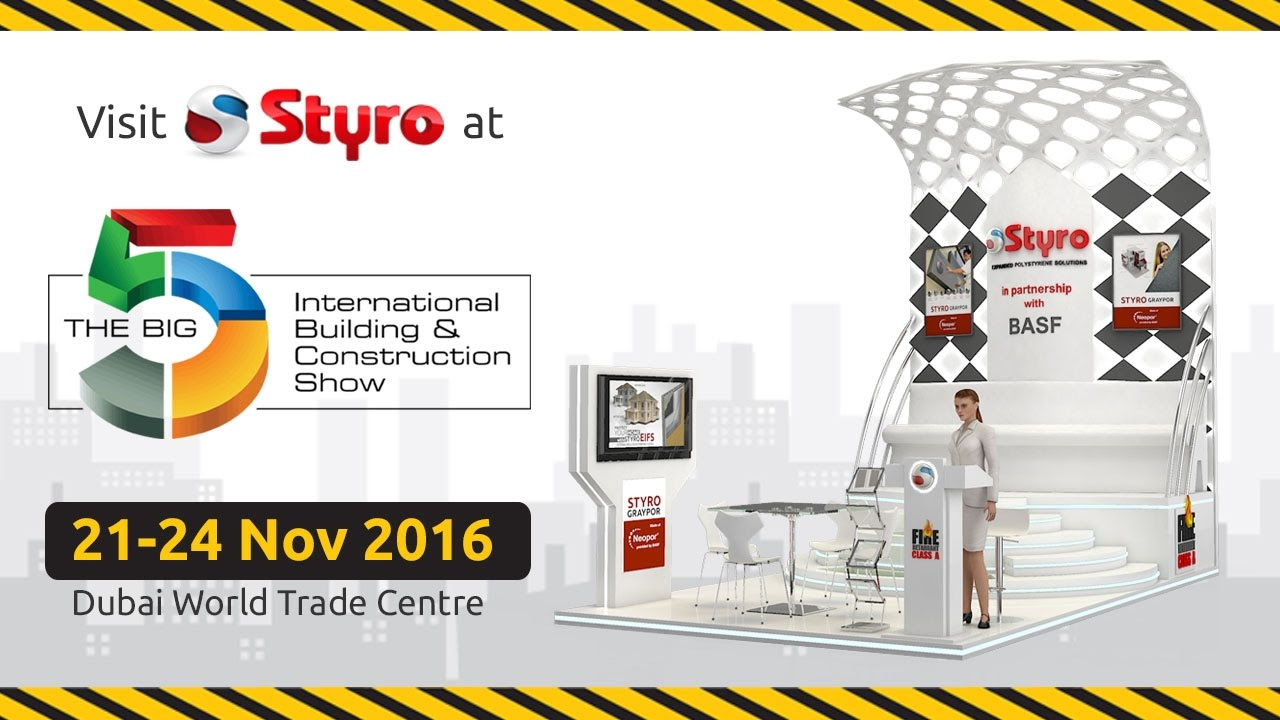 Styro to participate in the Big 5 Show 2016 | STYRO