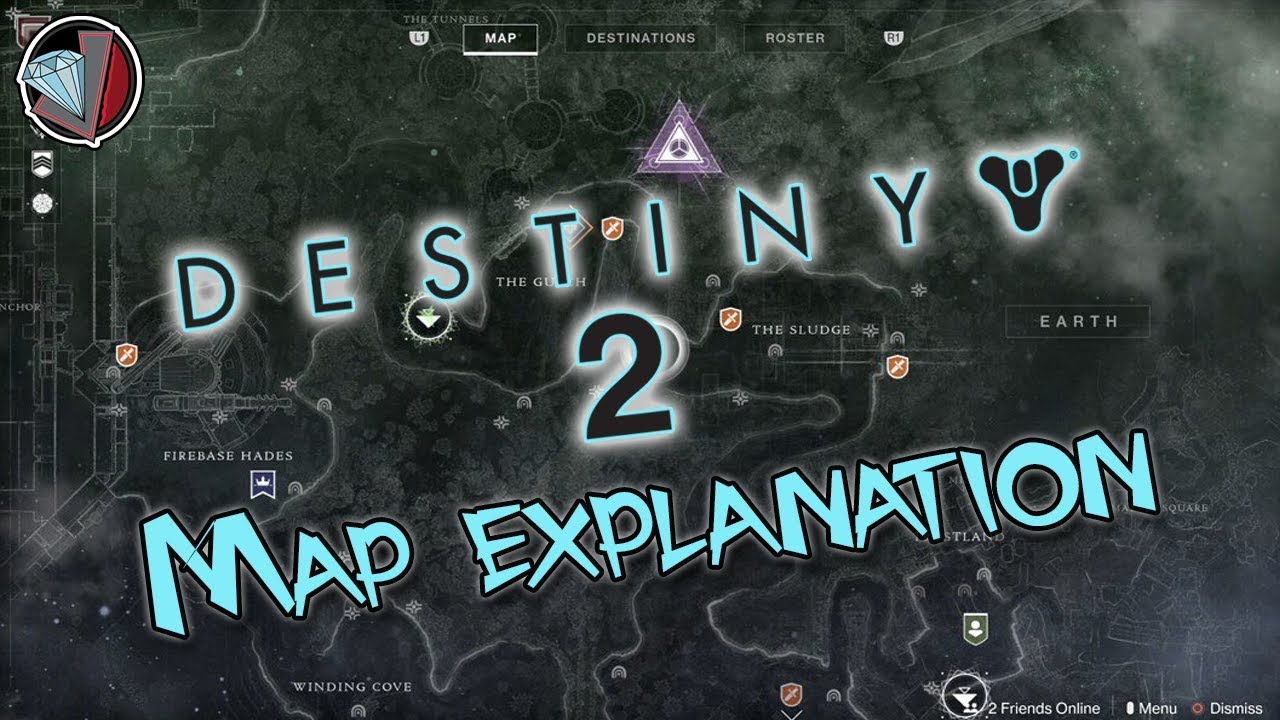 Destiny 2 Map Explained How To Understand The New Map Youtube