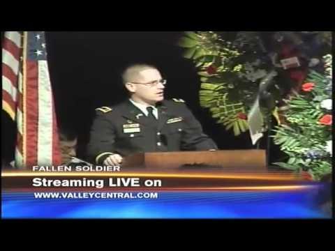 Funeral Service for Fallen McAllen Soldier Kurt Kern