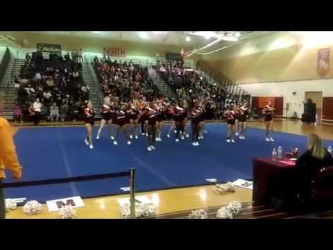 Mountain View High Conference 15 Cheer 2014