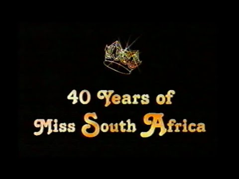 A Salute to Beauty: 40 Years of Miss South Africa (1999)