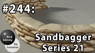 Nick Sibicky Go Lecture #244 - Sandbagger Series 21