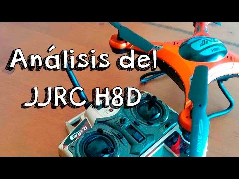 JJRC H8D ANALYSIS IN SPANISH: Best Value drone with camera FPV