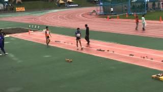 北海道国民体育大会 男子 幅跳び 内久保 貴人