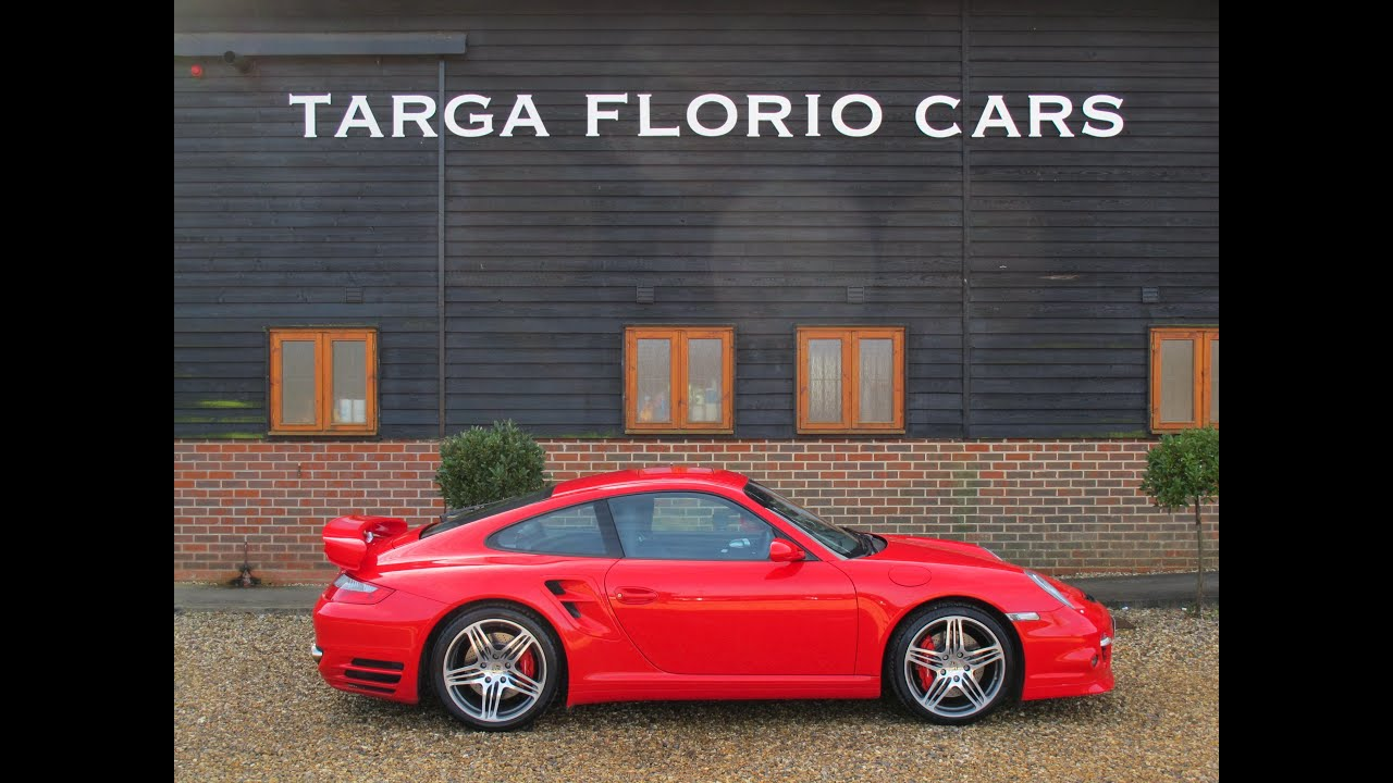 porsche 911 997 turbo in guards red for sale at targa florio cars in sussex youtube. Black Bedroom Furniture Sets. Home Design Ideas
