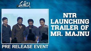 Jr Ntr Launching Trailer Of Mr. Majnu || Akhil Akkineni || Nidhi Agarwal