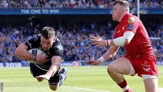 Leinster vs scarlets semi-final tries
