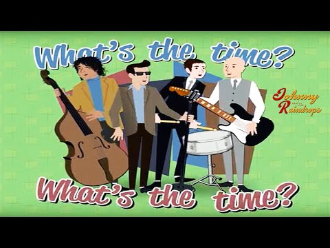 'What's the time?'. Telling the time song