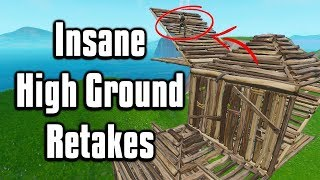 Advanced High Ground Retakes That Will Win You More Build Fights!