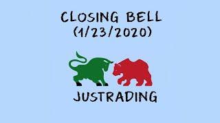 Closing Bell: Day Trading (1/23/2020), U.S stock market