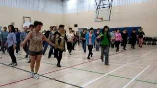 Little Waltz ~ Winnie Yu ~ Line Dance @ 2013 EZ Beginner LD Workshop Year end party
